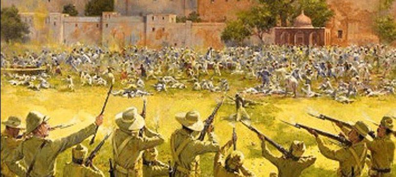 The Jallianwala Bagh Amritsar massacre