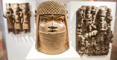 the Benin bronzes of West Africa