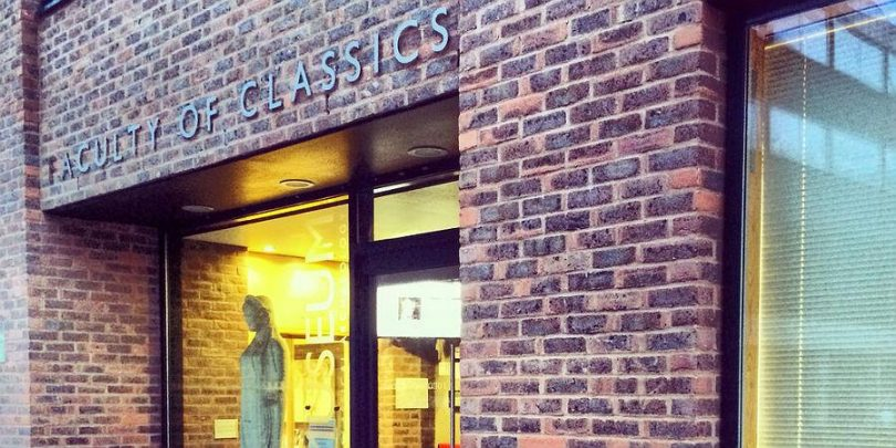faculty of classics entrance